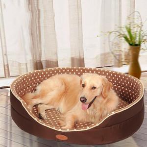 الوجهين متاح جميع الفصول كبيرة الحجم اضافية سرير كبير بيت الكلب بيت الكلب أريكة لينة الصوف كلب القط اللوازم سرير دافئ