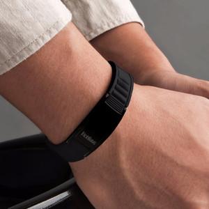 Hottime Sport Titanstahlarmband-Armband Gleichgewicht Menschlicher Körper