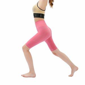 Yüksek Bel Kadınlar Kayma Şort Orta Uyluk Legging Artı boyutu undershorts Flat 2020 Kısa Leggings Sweat emdirin