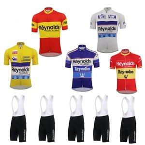 2019 велоспорт Джерси комплект мужчины DH MTB с коротким рукавом велосипедная одежда Джерси комплект нагрудник шорты гель pad ropa Ciclismo красный желтый белый одежда