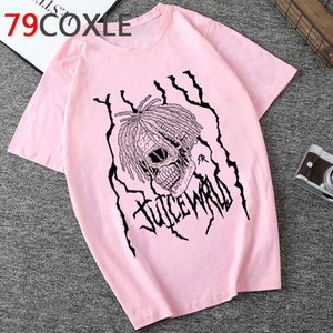 Rip Rapper Juice Wrld graphique T-shirt des hommes d'été cool Streetwear T-shirt unisexe Aesthetic Casual T-shirt New Hip Hop Top T-shirts Homme