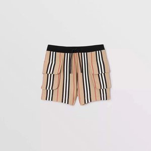 Children shorts 2020 new kids fashion clothing spring striped drawstring pants WSJ002 #122038