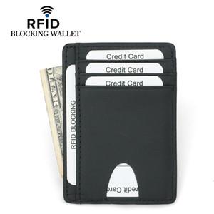 Well Made Slim Minimalist Front Pocket RFID Blocking Leather Wallets for Men Women