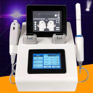 Profesyonel Yüksek Yoğunluklu Odaklı Ultrason Hifu Yüz Kaldırma Kırışıklık Kaldırma Vajinal Hifu 2in1 Hifu Makinesi DHL