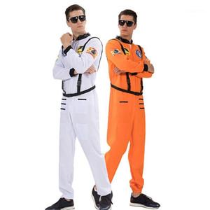 ملابس مع حزام هالوين وملابس تنكرية حزب الملابس أزياء أوم المرحلة رواد الفضاء ملابس الرجال تأثيري