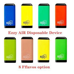 Newest EZZY Air Disposable Vapes Pens Pod Device E Cigarettes ezzy air Oil Cartridge 2.7ml Starter Kits Empty Pod Vaporizer Pop xtra Dispos