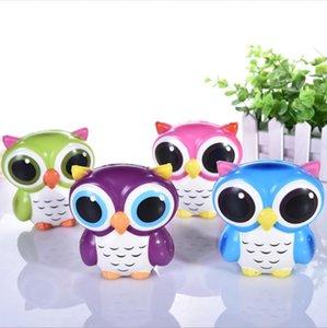Bonito Simulação OWL Squishy Macio Lento Rising Squishies Squishies Brinquedos Descompressão Brinquedo Crianças Brinquedos