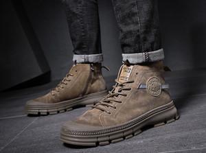 High Top Bottes d'homme cheville Dr Martin bottillons Mode Souliers simple d'homme Chaussures Homme Chaussures Homme Botas Hombre Krasovki adulte