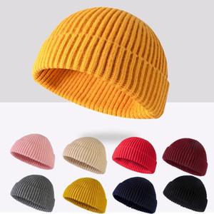 automne / hiver 2019 tendance de la mode est chapeaux court tricot