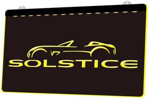 LD2525 (y) Solstice Neon Light Sign Décor Livraison gratuite Dropshipping en gros 8 couleurs au choix