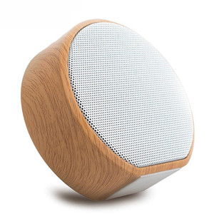 A60 Bluetooth speaker Outdoor Wooden Speakers Portable Wireless Subwoofer MP3 Player FM Radio Audio TF Card USB Play Handsfree Calling