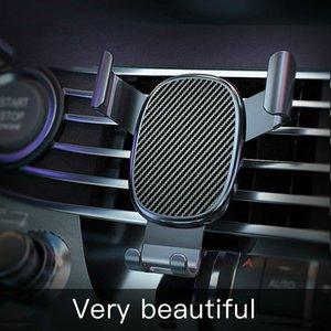 Araç Tutucu Phone için Yeni Araba Telefon Tutucu Cep Telefonu Tutucu Sabit Parantez Destek Gravity algılama Otomatik Kavrama Sabit Standı