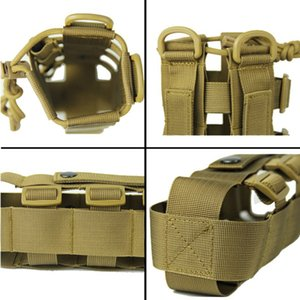 0.5L-2.5L Tactical Molle Water Bottle Pouch Oxford Military Canteen Cover Holster Outdoor Travel Kettle Bag With Molle System