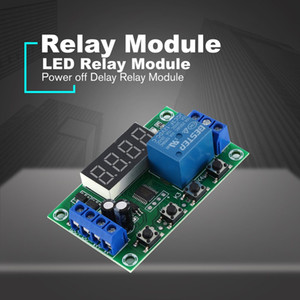 DC 12V 5A Einstellbare LED Relaismodul Power off Delay Timer Steuerungsschalttafel Zyklische Trigger Delay