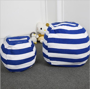 Toy Bag Children's Large Plush Toy Reception Bag Creative Children's Cushion Sofa Large Capacity Spherical Belt Hand Zipper storage bags