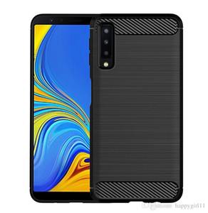 Happy Soft TPU Silicone Case Brush-Finish Phone Cover For huawei Mate 20X P30 Lite cases