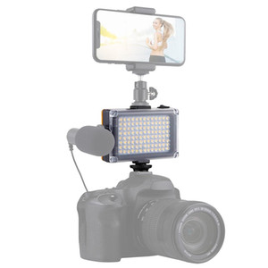 PULUZ Pocket 104 LED 1800LM Professional Vlogging Photography Video & Photo Studio Light with White and Orange Magnet Filters Light Panel fo