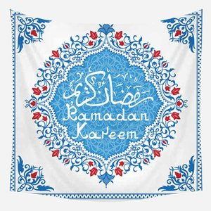 Eid Mubarak Decoration Tapestries Muslim Ramadan Decor Tablecloth Ramadan Mubarak Party Supplies Eid 65D