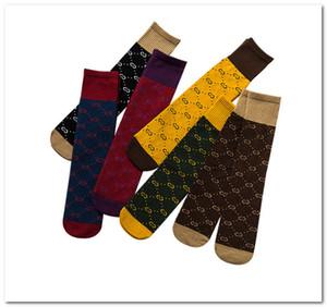 Moda Crianças Meias Meninas Cartas Madeiras Madeiras Meias Meninos Cotton Football Socks Socks Crianças Patchwork Cor Casual Sock J0270