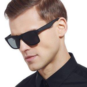 TAC1.1 Vintage Fashion Frame TR90 Retro Mens Polarizing Sunglasses TR90 Casual UK Sunglasses Occhiali da sole Lente Mens KXGRT