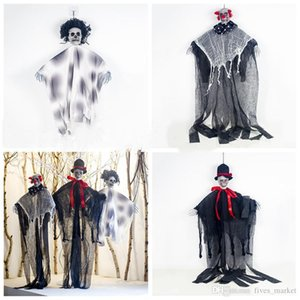 Halloween Skeleton Decration Skeleton Hanging Props Party Bar Hanging Layout Props Halloween Decrations Tools 3styles DHL AN2679