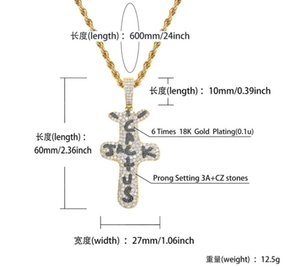 Hop Quality Necklace Necklace Zircon Full Women Hip High Jack Pendant Rap Travis Cactus Fashion Street Men And Of Scott Apvtt