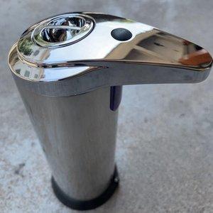 السائل الفولاذ المقاوم للصدأ الأشعة تحت الحمراء الاستشعار مضخة الصابون الاستشعار التلقائي Touchless حر اليدين صابون غسالة زجاجة مطبخ حمام LJJP59