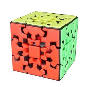 3x3 Gear Puzzle Twist Cube Professional Game Toys Strange Shape Puzzle Cube Logic Game Toys Strange Shape Twist Wisdom Club