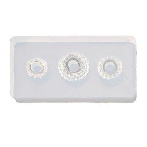Jóias Ferramentas baratos Equipamentos Silicone Mold Grande Buraco Bead encanto Add-a-Bead Jewelry Bracelet Resina Ferramenta Craft