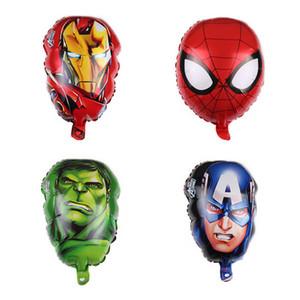 Les ballons Avengers Foil homme super-héros hulk Captain America Ironman spiderman enfants ballon hélium jouets classiques pour les jouets pour enfants 50pcs