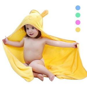 New Cotton baby hooded bathrobe Asciugamano da bagno per bambini a forma di neonato Cartone animato Neonate Bambina che riceve coperta Neonato Asciugamano da bagno