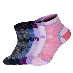 Summer Sports Socks Outdoor Nature Hiking Socks Men Women Cotton Towel Bottom Breathable Ride Bike Walking Cycling