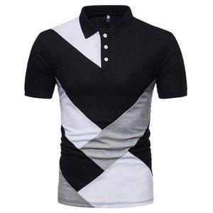Wisefin 2020 New Men Shirt Casual Man Verão costura respirável Tops Homens de manga curta elevada quantidade diária Tee D30