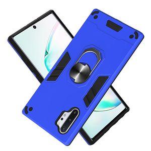 Zırh Metal Araba Halka Tutucu Vaka İçin Samsung Galaxy J530 J5 2017 / J5 Pro / J730 J7 2017 / J7 Pro Manyetik Telefon Arka Kapak