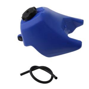Motocicleta de gas del tanque de combustible con Tap para Yamaha PW50 PW 50 PY50 Peewee 50 Azul