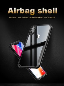 Luxury Soft Shockproof Bumper Case On The For IPhone 8 7 6 6s Plus Phone Case Cover For IPhone X XR XS MAX Transparent Back Case
