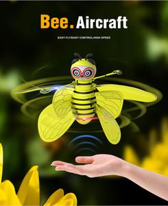 RC 비행 미니 꿀벌 원격 제어 장난감 전자 적외선 유도 항공기 RC 동물 항공기 장난감 어린이 선물 Y200317