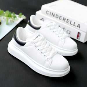 2019 primavera e l'autunno nuovo progettista Scarpe Zeppe bianco Femmina Sneakers piattaforma delle donne Tenis Feminino Casual Scarpe Donna Donna