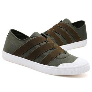 Yeni Rahat Erkek Ayakkabı Canvas Loafers Makosenler Casual Chaussure Homme Erkek Sneakers Ayakkabı Yetişkin Sapato Masculino Slip