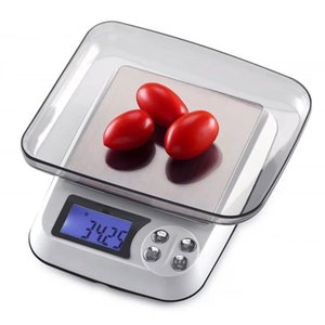 Household Kitchen Scale Electronic Food Scales Diet Scales Measuring Tool Slim LCD Digital Jewelry Scales US Plug