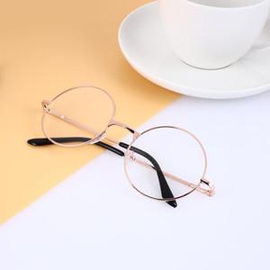 Fashion Round Circle Metal Frame Eyeglasses Original Clear Lens Eye Glasses Men