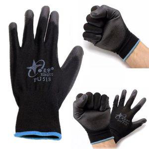 New Großhandel Nitril Beschichtete Arbeitshandschuhe Nylon Sicherheit Labor Fabrik Garten Reparatur-Protektor nachrüstbar Handschuhe Fashion Hot