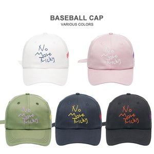 Fashion Baseball Cap Korean Style Embroidered Twill Letter Cotton Hat Various Colors Free Shipping Hot Sale
