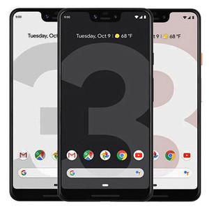 Réformé original Google Pixel 3 XL 6.3 pouces Octa noyau 4 Go de RAM 64 Go 128 Go ROM Charge rapide 3.0 12,2 MP Android Smart Phone gratuit DHL 1pcs