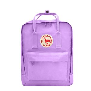 Top Ribbon Style Fjallraven Black Red Ribbon Waterproof Canvas Bags Neutral Backpacks Fashion Computer Bags Double Zipper Outdoor Outl #QA145