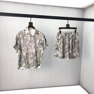 Dior short sleeve shorts 2020 neue Satz klassische Farbe blockierende Gewebeband Pullover Kapuzenoberteil mit veränderbarer Länge logo gewebtes Logo  xshfbcl Hardware