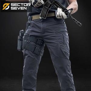 Sector Sete IX8 impermeáveis táticos Guerra Jogo de carga calças dos homens silm Calça Casual homens calças Exército Ativo