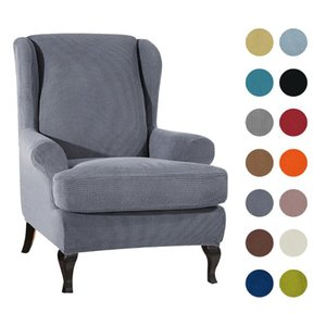 Waterproof Sloping Arm King Back Chair Cover Tiger Bench Cover Elastic Armchair Wingback Wing Sofa Back Chair Covers