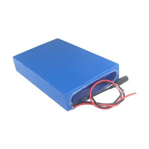 Su geçirmez şarj edilebilir 52 v 30ah lipo pil paketi için ebike için Yüksek kapasiteli 300 W ile 2000 W için güç 3A şarj Ücretsiz kargo
