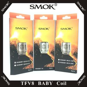 SMOK TFV8 BABY Spulenkopf AB-Codes V8 Baby-T8 T6 X4 M2 Q2-Kern für TFV8 BABY Beast Tank 100% Original